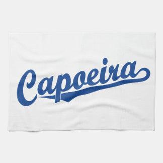 青のCapoeira キッチンタオル