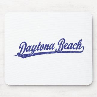 青のDaytona Beachの原稿のロゴ マウスパッド