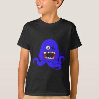 青のOctoモンスター Tシャツ