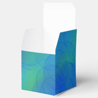 青はギフト用の箱泡立ちます フェイバーボックス