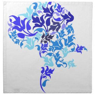 青はグレートデーン葉が出ます ナプキンクロス