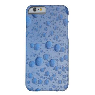 青は場合iPhoneの泡立ちます Barely There iPhone 6 ケース