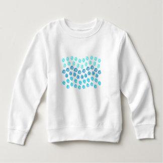 青は幼児のスエットシャツを振ります スウェットシャツ