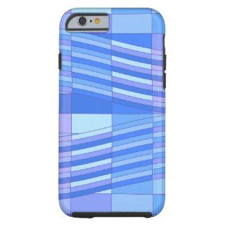 青は波状の長方形を着色します ケース