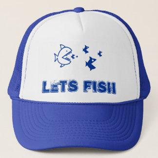 青は魚を可能にします キャップ