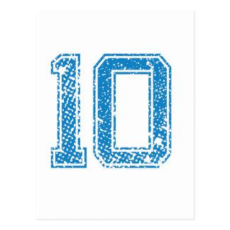 青はJerzee第10を遊ばします ポストカード
