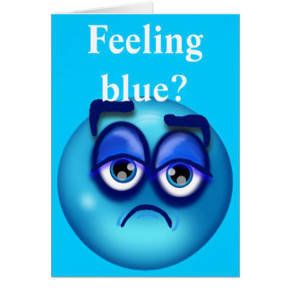 青を感じること カード