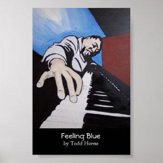 青を感じること ポスター
