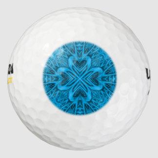 青ウイルソン超500のゴルフ・ボール ゴルフボール