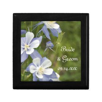 青オダマキ(植物)によっては結婚式が開花します ギフトボックス