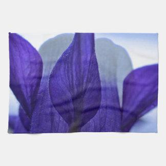青オダマキ(植物) キッチンタオル