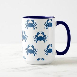 青カニのマグ マグカップ