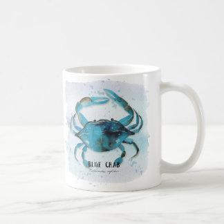 青カニ コーヒーマグカップ