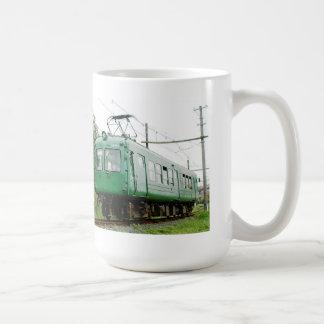 青ガエル、デハ5100形、日本の電車 コーヒーマグカップ