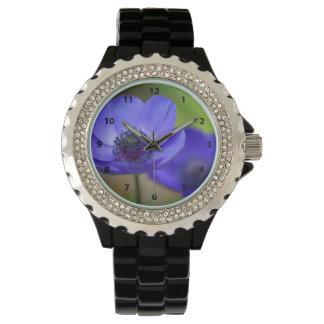 青ケシの花 腕時計