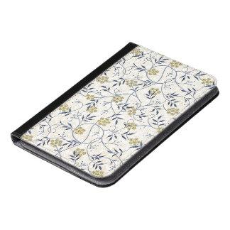 青ジャスミンのiPad Miniのフォリオ iPad Miniケース