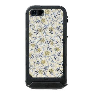 青ジャスミンのiPhone SE/5/5S Incipioの地図書ID ウォータープルーフiPhone SE/5/5sケース
