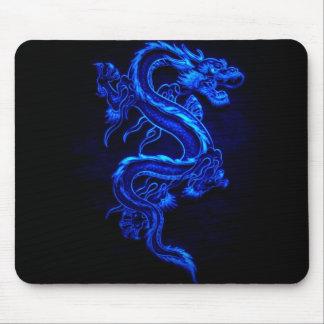青ドラゴン黒火 マウスパッド