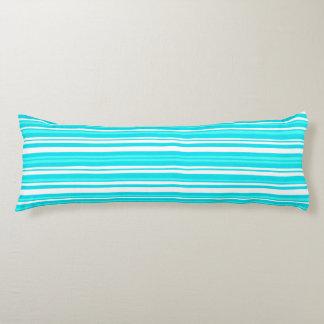 """青ブラシをかけられたポリエステル抱き枕(20"""" x 54"""") ボディピロー"""