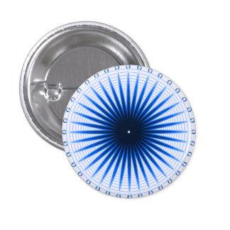 青ボタンの破烈 3.2CM 丸型バッジ