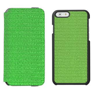 青リンゴ色の織り方の網の一見 INCIPIO WATSON™ iPhone 6 財布ケース