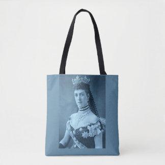 青写真のデンマークのプリンセスアレキサンドラ トートバッグ