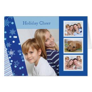 青写真の休日によって折られるカードの陰 カード