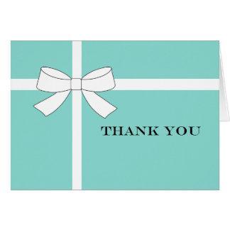 青及び白人の披露宴パーティーはメッセージカード感謝していしています カード