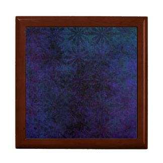 青及び紫色の抽象芸術、デジタル汚い芸術 ギフトボックス