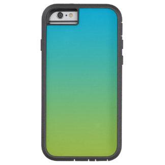青及び緑のグラデーション TOUGH XTREME iPhone 6 ケース