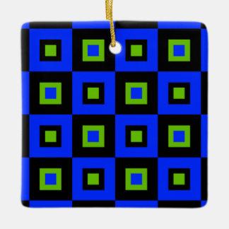 青及び緑の眩暈 セラミックオーナメント