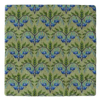 青及び緑のMila Trivet トリベット