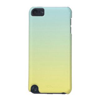 青及び黄色のグラデーション iPod TOUCH 5G ケース