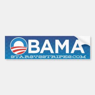青星のオバマ2012年-ステッカー バンパーステッカー