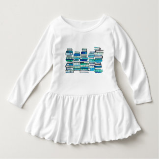 青書の幼児の服 ドレス