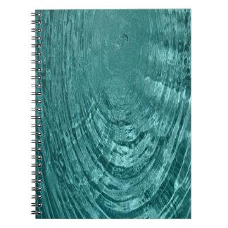 青海原のしぶきのさざ波のノート ノートブック
