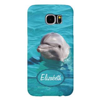 青海原のイルカは個人化なります SAMSUNG GALAXY S6 ケース