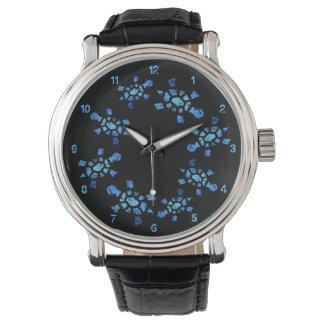 青海原のカメの時間 腕時計