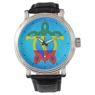 青海原のラスタHonu 腕時計