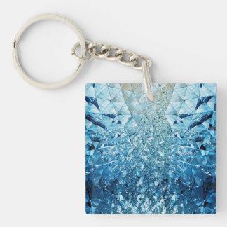 青海原の水晶 キーホルダー