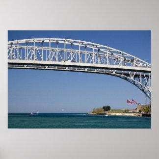 青海原橋は対スパン橋2です ポスター