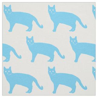 青猫 ファブリック