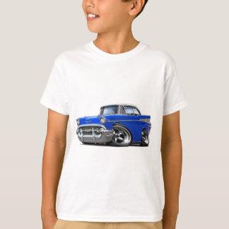 青白の1957年のChevyはBelair改造しました Tシャツ