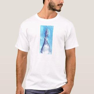 青空によって引き裂かれる Tシャツ