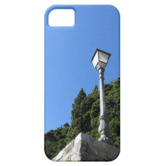 青空に対するヴィンテージの街灯 iPhone SE/5/5s ケース