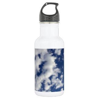 青空のふくらんでいる雲 ウォーターボトル