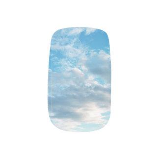 青空のテーマのMinxのネイルアートのデカール ネイルアート
