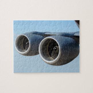 青空の二重ジェット・エンジン ジグソーパズル