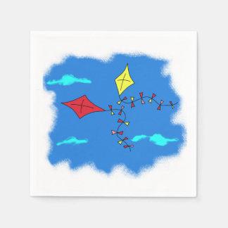 青空の凧 スタンダードカクテルナプキン