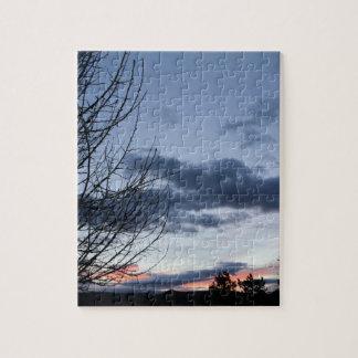 青空の日の出 ジグソーパズル
